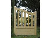 "Portillon jardin bois ""Gand"" - 1 x 1.30 x 1.10m"