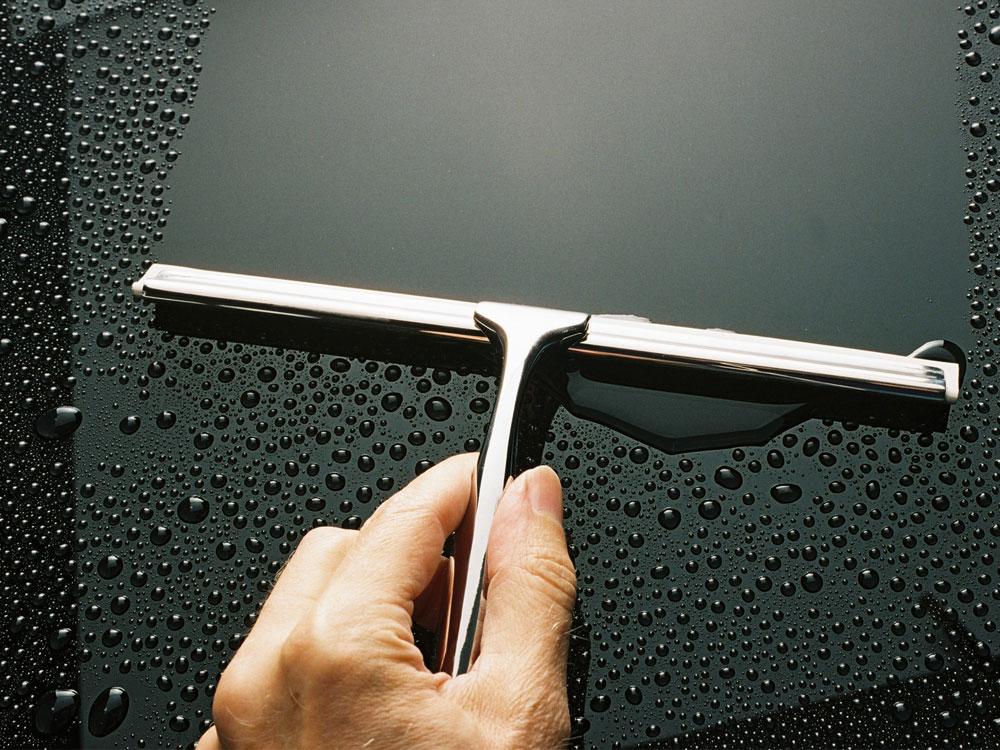 Accessoire de salle de bain raclette de douche anti bu e - Leroy merlin salle de bain accessoires ...
