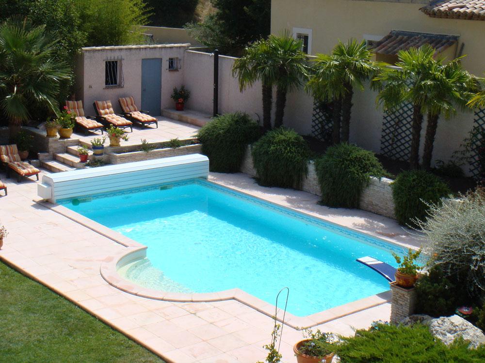 piscine enterr e tentation 8 x 4 x m 29166 29168. Black Bedroom Furniture Sets. Home Design Ideas
