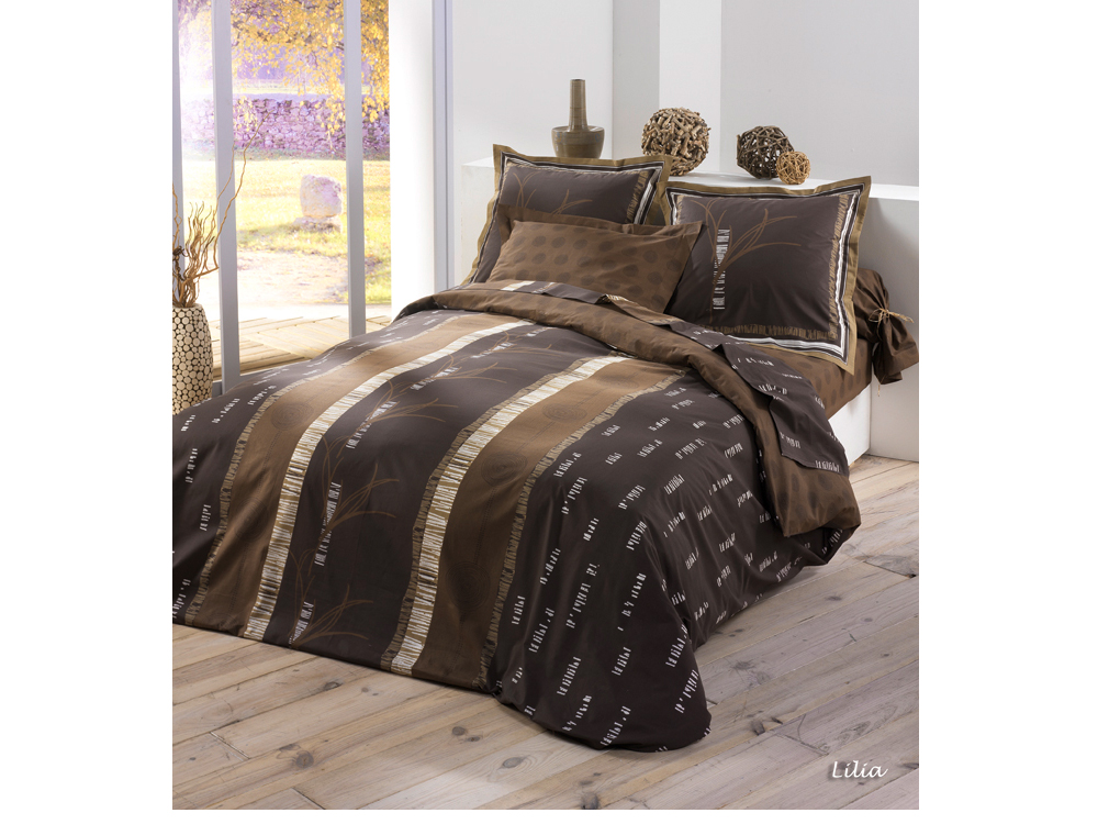 parure housse de couette 140 x 200 cm 30323. Black Bedroom Furniture Sets. Home Design Ideas