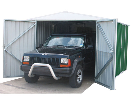 "Garage métal "" Hervey "" - 18 m² - 3.00 x 6.00 x 2.30 m - 0.35 mm"