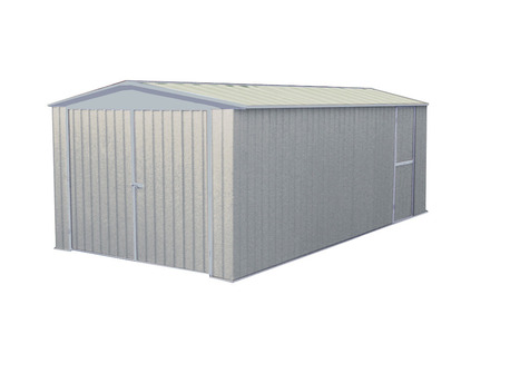 "Garage métal "" Melton "" - 13.44 m² - 3.00 x 4.50 x 2.06 m - 0.35 mm"