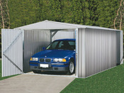 """Garage métal """" Mackay """" - 18 m² - 3.00 x 6.00 x 2.06 m - 0.35 mm"""
