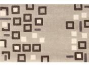"""Tapis """"Urban"""" en velours - L 64 x l 42 cm"""