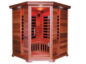 """Cabine de sauna Infrarouge """"Luxe"""" 3/4 places 150 x 65 x 120 x 190 cm"""