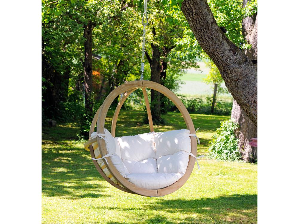 Nacelle jardin globo chair natura 55430 55432 - Nacelle suspendue jardin ...