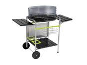 """Barbecue à charbon de bois """"Classy"""" - 4 niveaux de cuisson - 106 x 63 x 91 cm"""