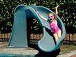 "Jeux piscine - Toboggan ""Cyclone"" - Gris sable"