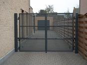 """Portail """"Heist""""- 3 x 1.5 m"""