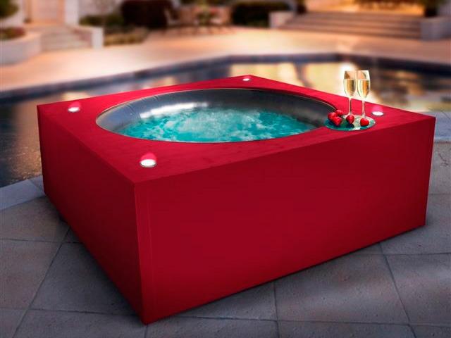 contour bois pour spa gonflable 59917 59920. Black Bedroom Furniture Sets. Home Design Ideas