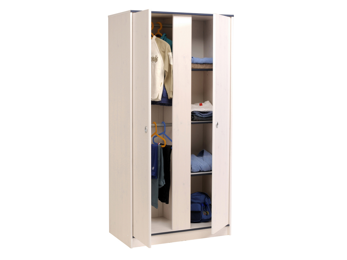 Penderie bois conforama placard entree conforama with for Armoire bois conforama