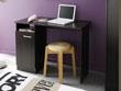 "Bureau ""Soft"" - 100 x 49 x 74 cm - Coloris café"