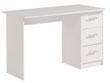 """Bureau """"Soft"""" - 121 x 55 x 74 cm - Coloris blanc"""