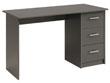 """Bureau """"Soft"""" - 121 x 55 x 74 cm - Coloris gris"""