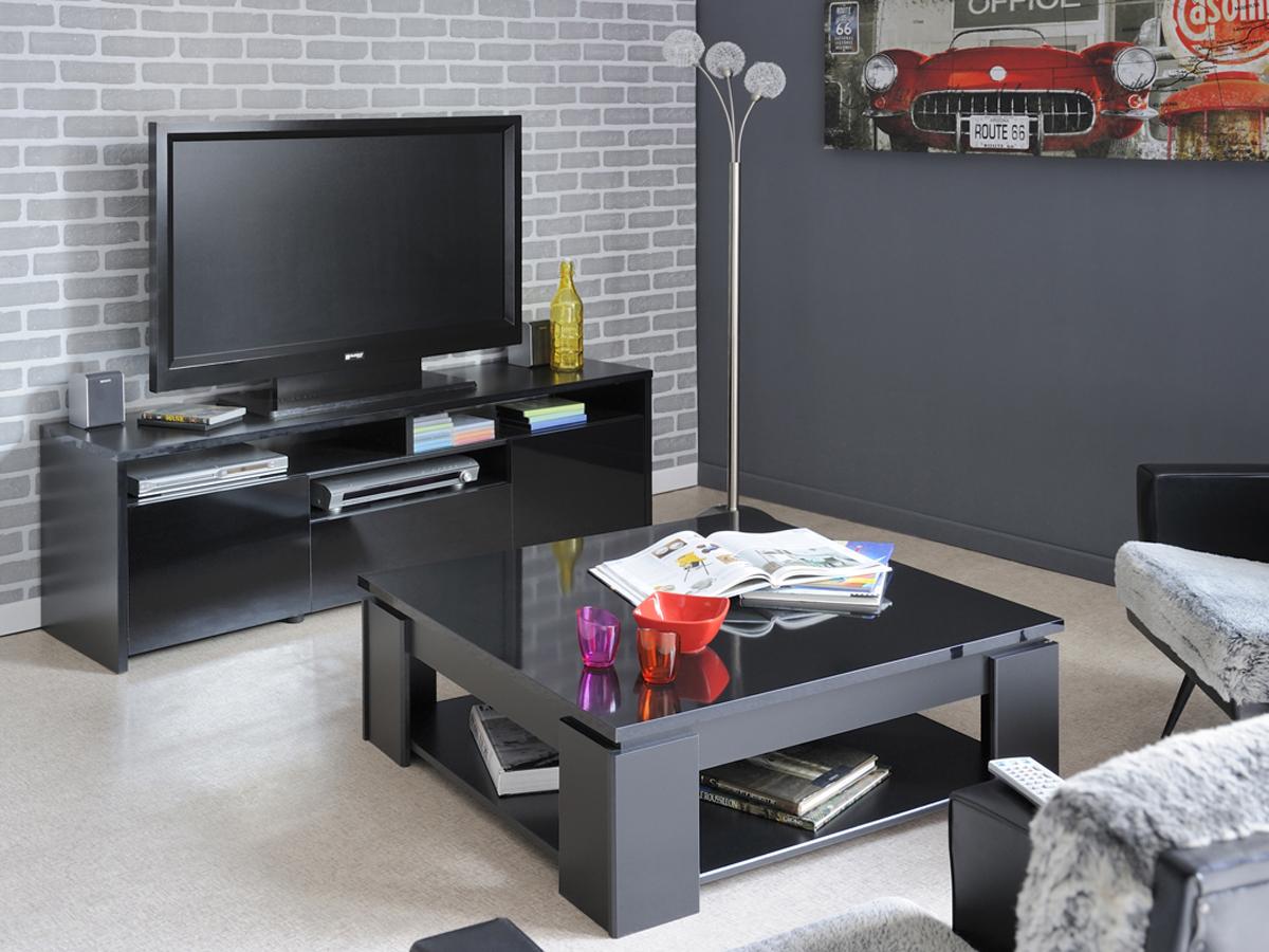 Prix des meuble tv rouge 4 for Meuble tv mikado