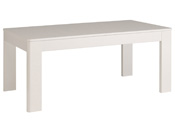 "Table repas ""Ciri"" - 229,8 x 77,8  x 91,5 cm - Blanc"