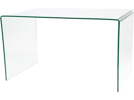 "Bureau ""Gary"" - 125 x 70 75 cm - Verre"