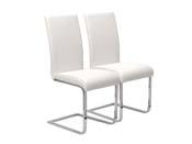 """Lot de 2 chaises """"Angel"""" - Blanc"""