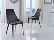 "Lot de 2 chaises ""Dama"" - Gris"