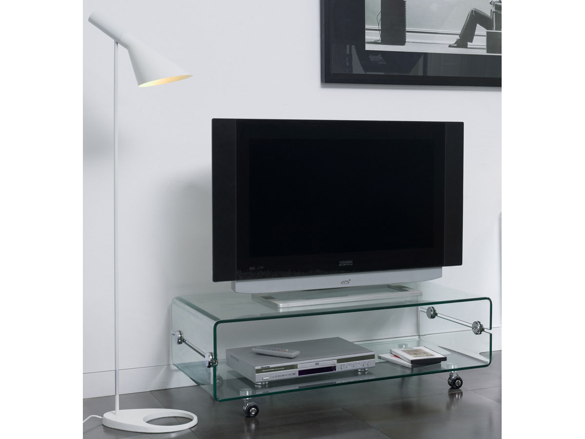 meuble tv haut en verre. Black Bedroom Furniture Sets. Home Design Ideas