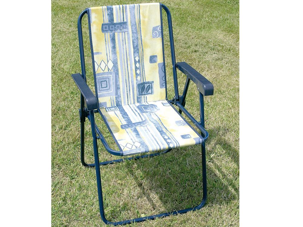 chaise jardin fauteuil pliant piccolo en acier poxy 39222. Black Bedroom Furniture Sets. Home Design Ideas