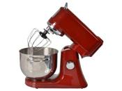 "Robot pâtissier multifonctions ""EF706BR"" - Bol inox 4.7 litres - 100 W - Coloris rouge"