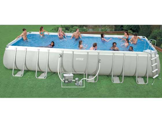piscine tubulaire ludo 3 - 5.49 x 2.74 x 1.32 m