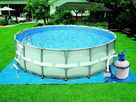 Piscine Tubulaire Ronde Ultra Frame 4 88 X 1 22m 16466