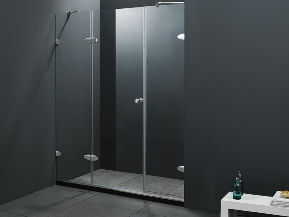 porte de douche battante malmo 150x183cm 51333. Black Bedroom Furniture Sets. Home Design Ideas