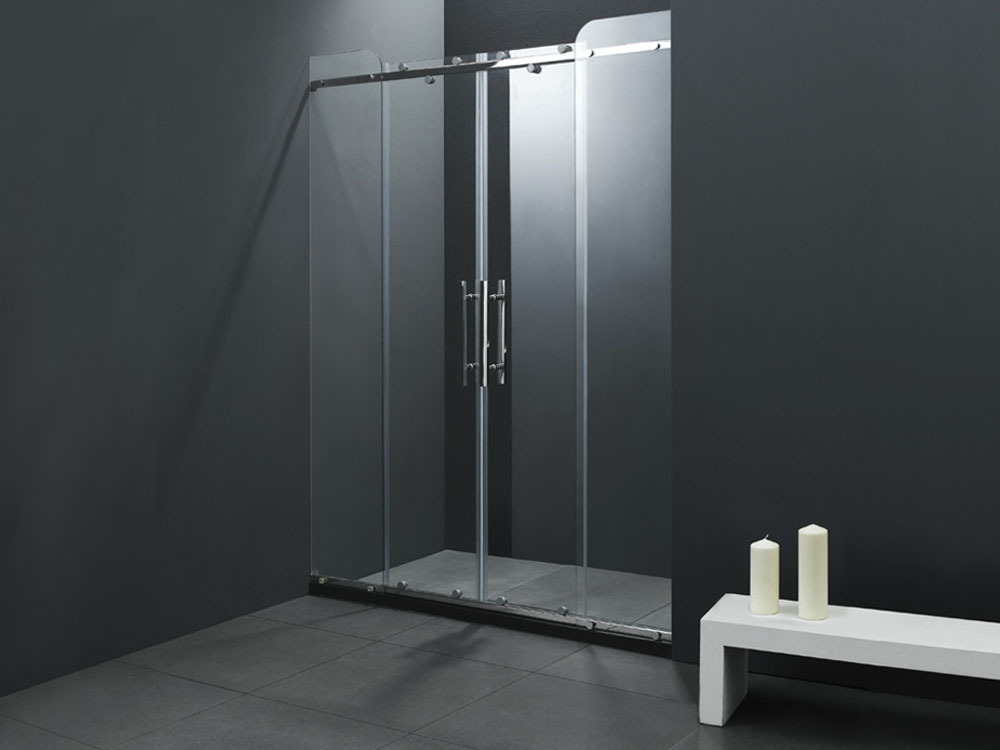 porte de douche coulissante kumla 150x193cm 51341. Black Bedroom Furniture Sets. Home Design Ideas