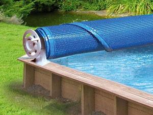 Enrouleur de Bâche été piscine hors-sol