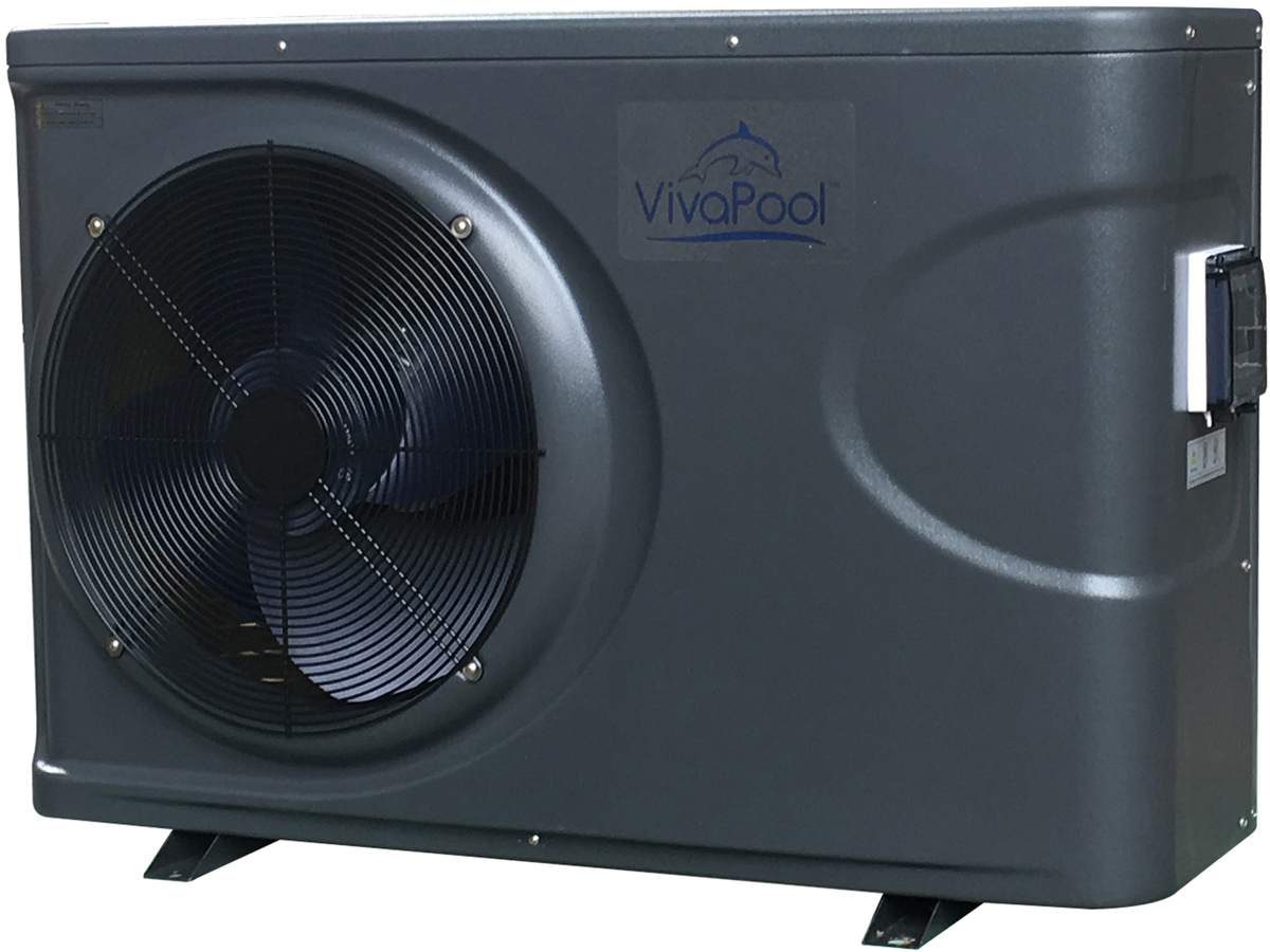Pompe a chaleur reversible chaud froid puissance 14 kw 61778 for Puissance pompe a chaleur piscine