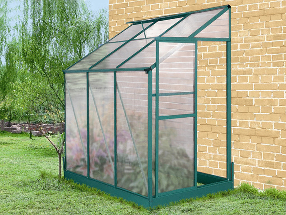 Serre jardin polycarbonate camelia m 52416 - Arceaux pour serre de jardin ...