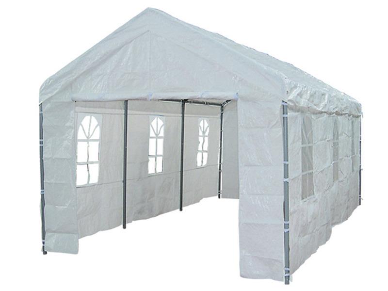tente de r ception anna en poly thyl ne 3 x 6 x 2 7 m 58446. Black Bedroom Furniture Sets. Home Design Ideas