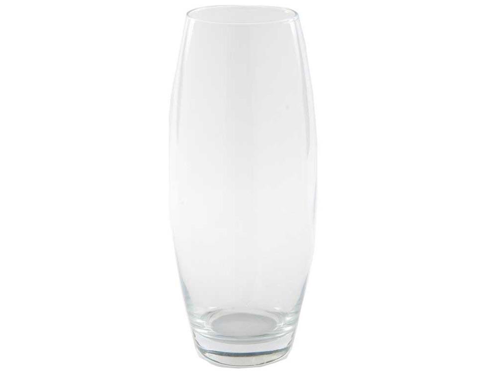 vase en verre haut oblong venise transparent h 70cm x d. Black Bedroom Furniture Sets. Home Design Ideas