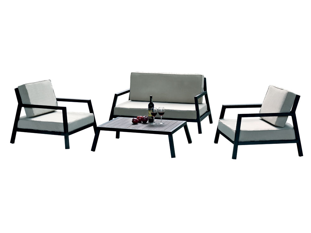 salon de jardin modena 1 canap 2 fauteuils 1 table basse 55310. Black Bedroom Furniture Sets. Home Design Ideas