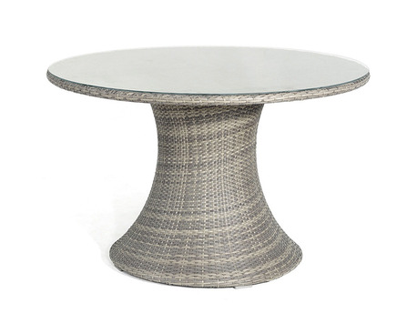 "Table de jardin ""Vulcano"" - Coloris naturel"