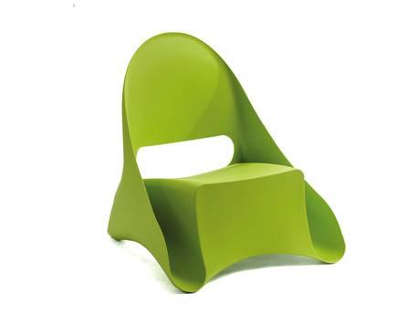 """Lots de 4 fauteuils de jardin """"Ondule"""""""